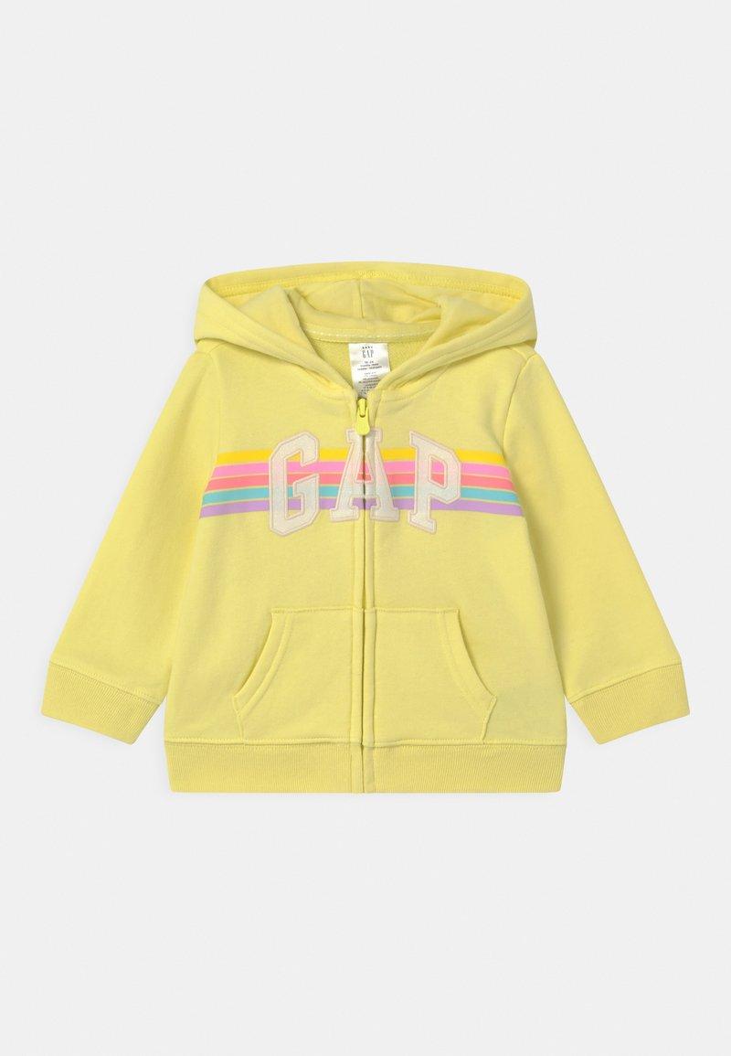 GAP - GIRL LOGO - Zip-up hoodie - lime juice