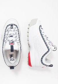 Fila - DISRUPTOR LOGO - Baskets basses - white - 0