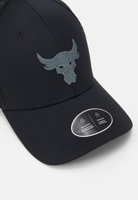Under Armour - PROJECT ROCK TRUCKER UNISEX - Gorra - black/pitch gray - 4