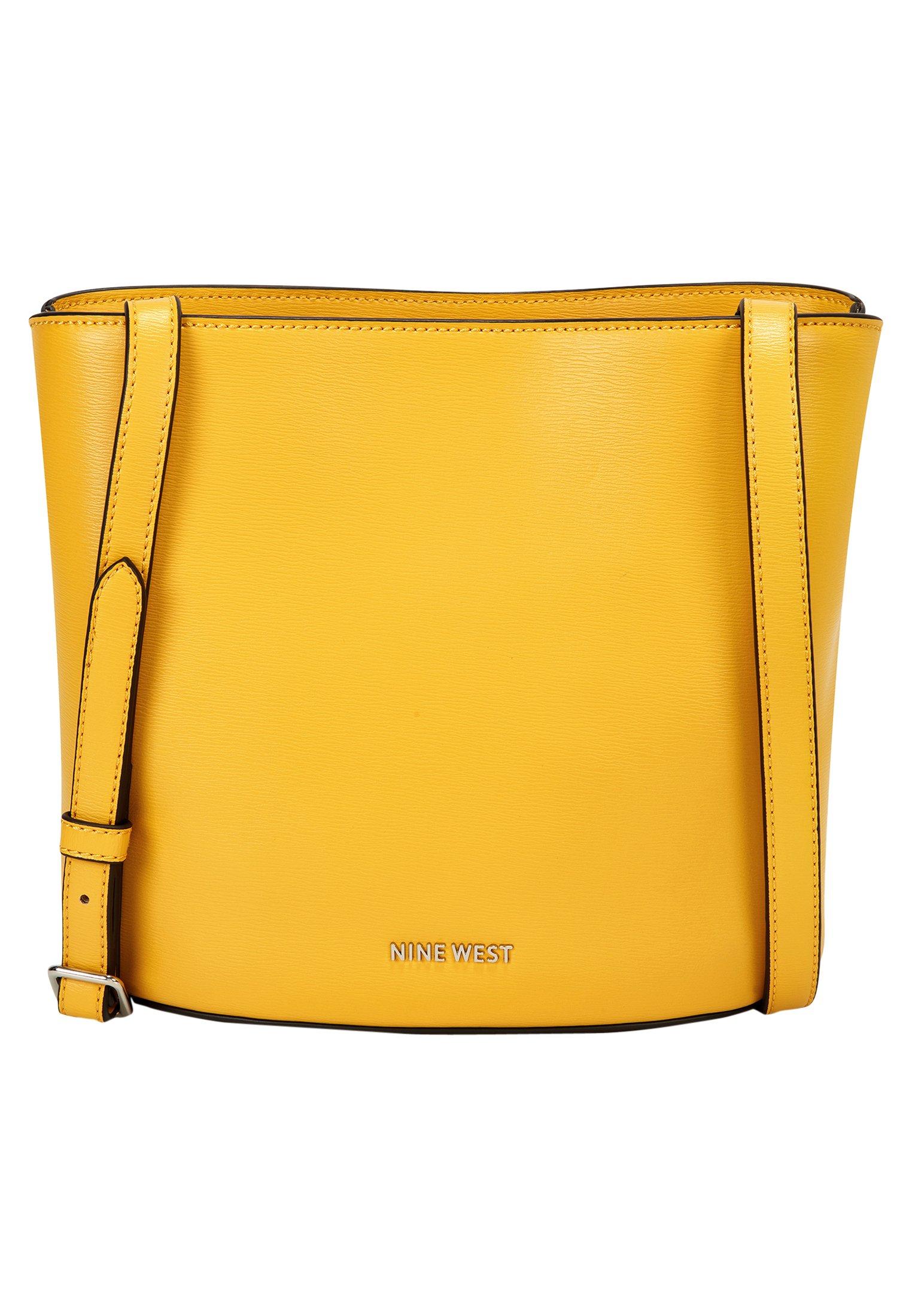 Damen Shopping Bag - dark yellow