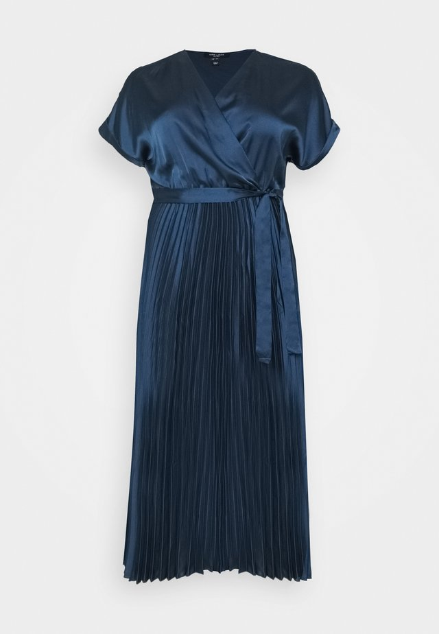 GO PLEATED - Cocktailjurk - navy