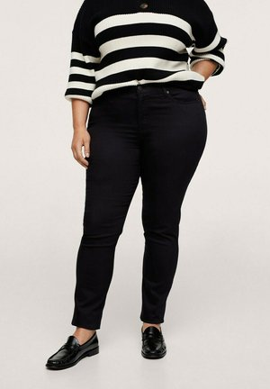 JULIE - Slim fit jeans - schwarz