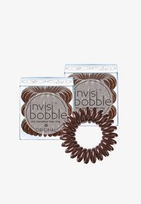 Invisibobble - ORIGINAL HAARGUMMI 2 PACK  - Hårstyling-accessories - pretzel brown - 0
