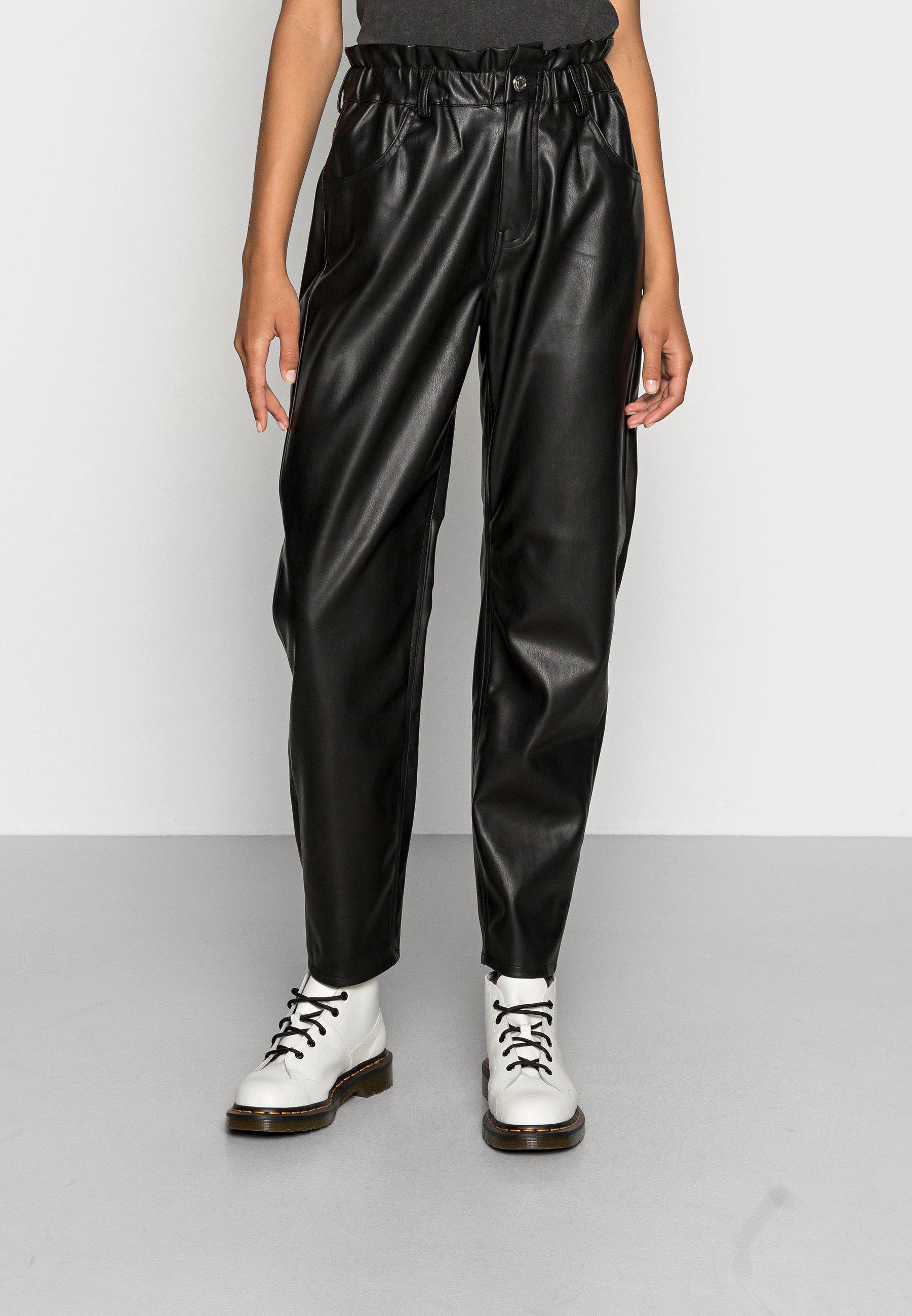 Women ONLOVA NAIA FAUX PANT - Trousers