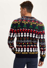 DeFacto - NEW YEAR - Jumper - navy - 2