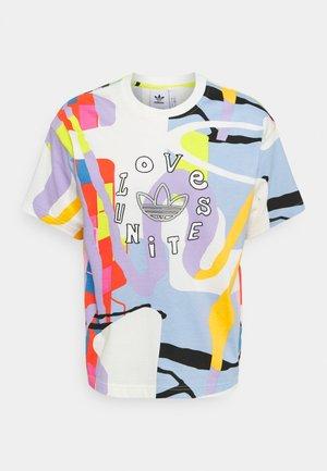 LOVE UNITES UNISEX - Camiseta estampada - multicolor