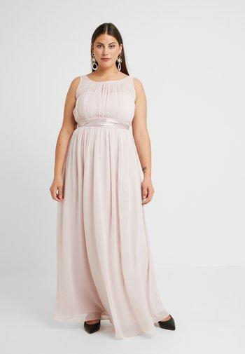 NATALIE MAXI - Společenské šaty - blush