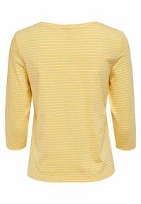 ONLY - T-shirt à manches longues - cornsilk - 5