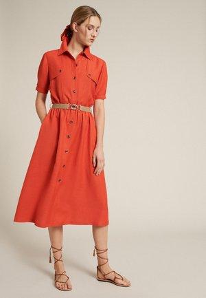 PROVA - Shirt dress - arancio