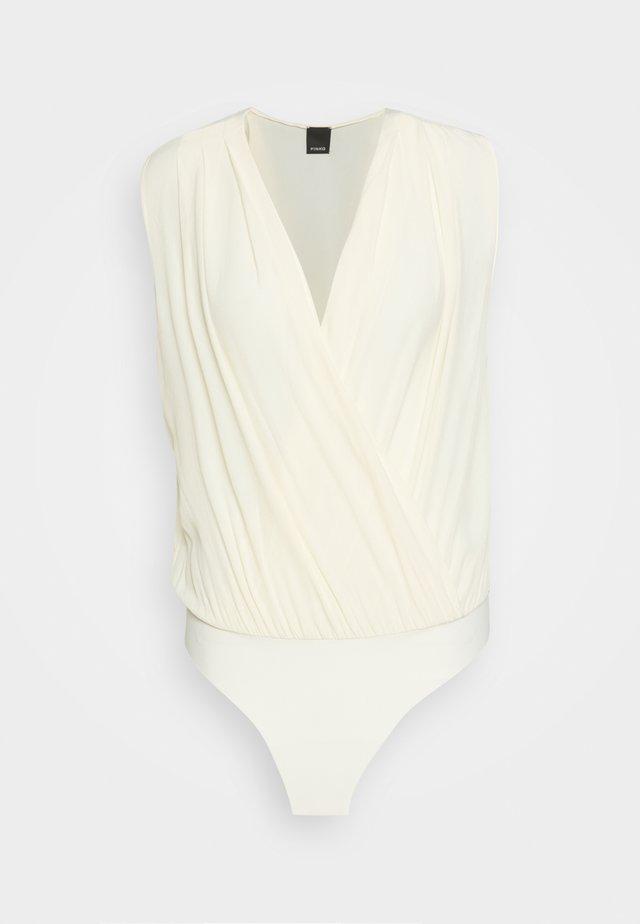 INES BODY - Blouse - white