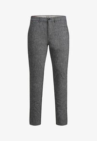 Jack & Jones - MARCO DAVE LEINEN - Pantalones chinos - black - 6