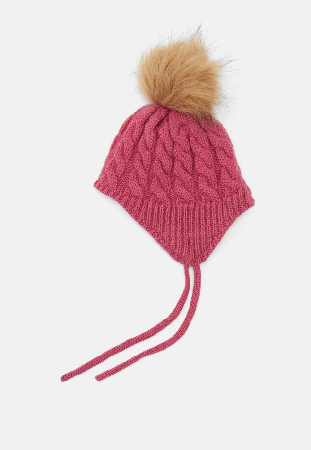 NBFMANUN HAT - Beanie - rose wine
