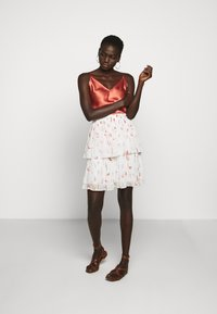 Bruuns Bazaar - ESMINA SKIRT - A-line skirt - brush artwork - 1