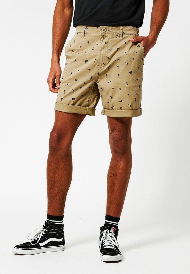 Stefan - Shorts - dark khaki