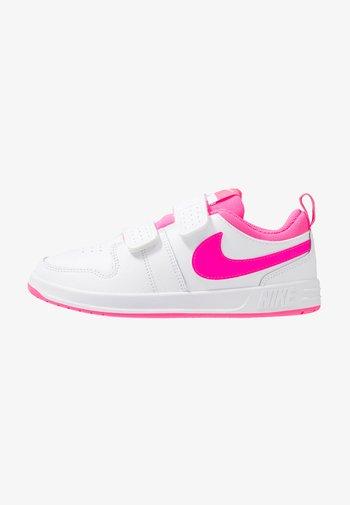 PICO 5 UNISEX - Sports shoes - white/pink blast