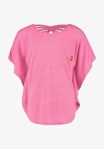 Print T-shirt - warm pink