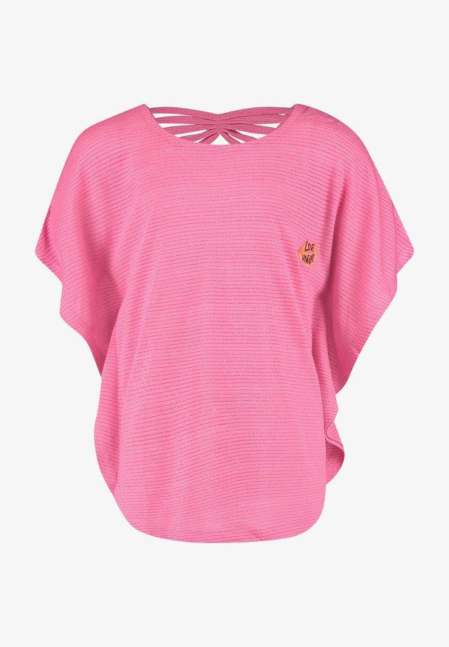 T-shirts med print - warm pink