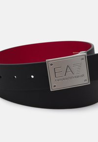 EA7 Emporio Armani - UNISEX - Cintura - black/racing red - 2