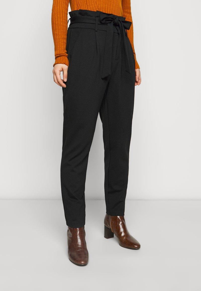 ONLY Petite - ONLPOPTRASH LIFE YO EASY - Trousers - black