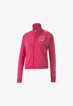 Trainingsjacke - glowing pink