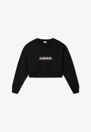 B BOX CROP - Sweatshirt - black