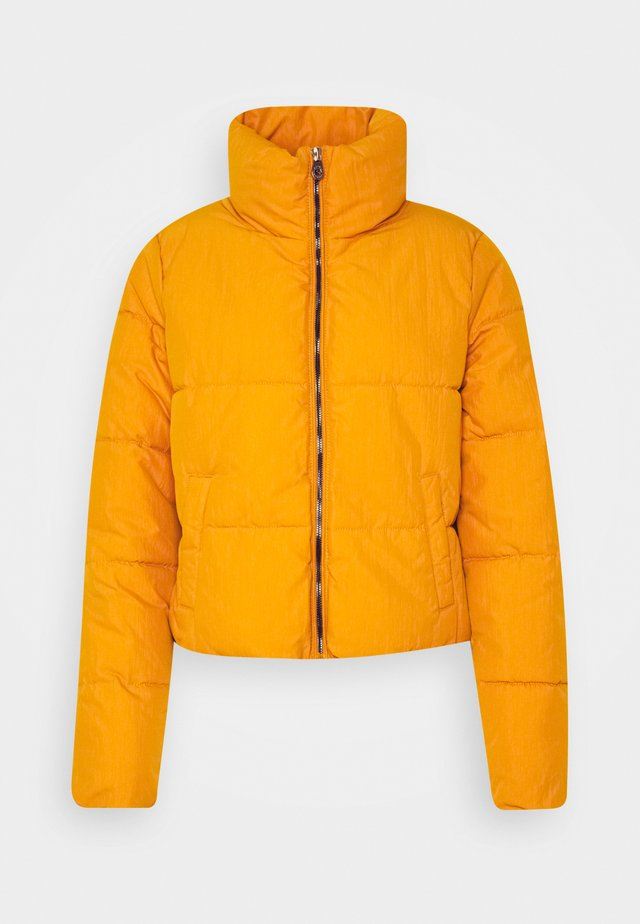 PUFFER - Winter jacket - golden yellow