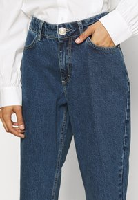 Custommade - YUKI - Jeansy Skinny Fit - dark denim - 3