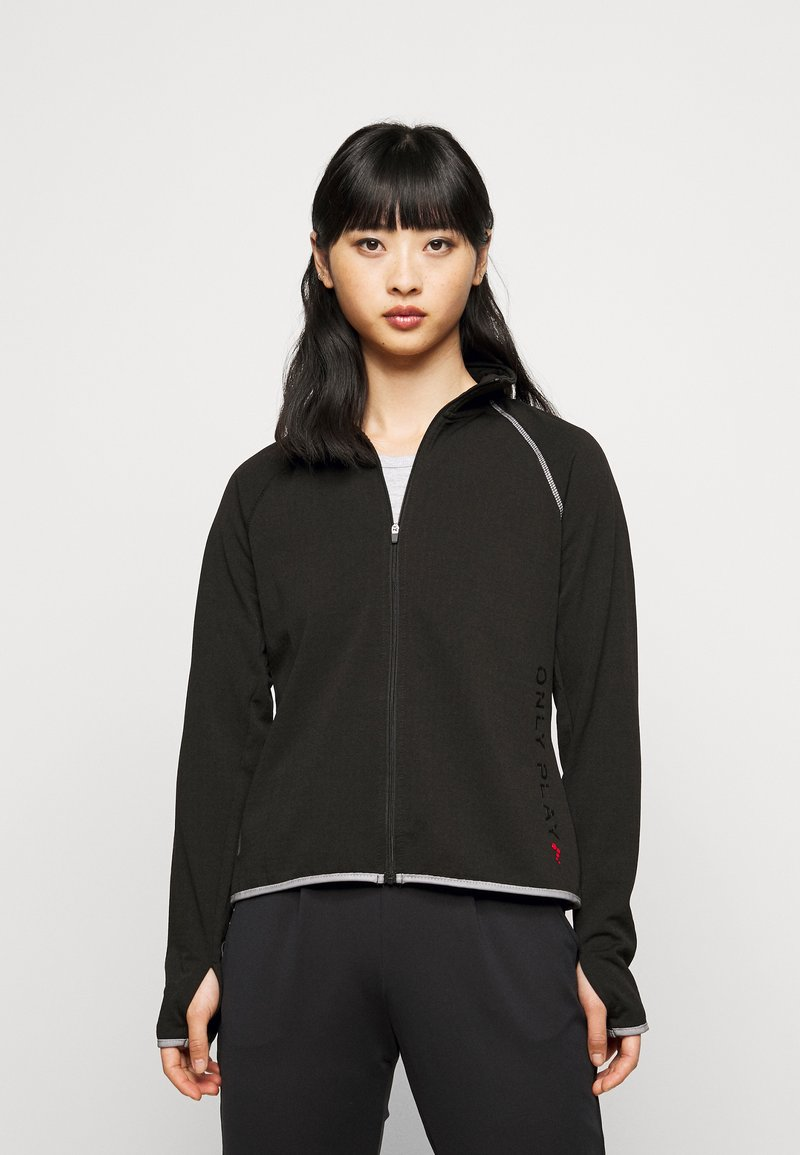 ONLY PLAY Petite - ONPPERFORMANCE RUN BRUSHED ZIP - Training jacket - black