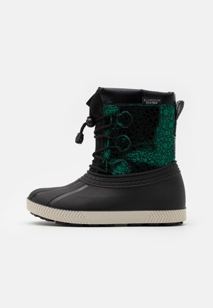 Winter boots - dark green