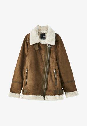 Light jacket - mottled light brown