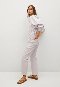 Mango - Kalhoty - lilac - 3