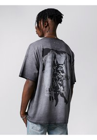 Tigha - Print T-shirt - vintage black - 0