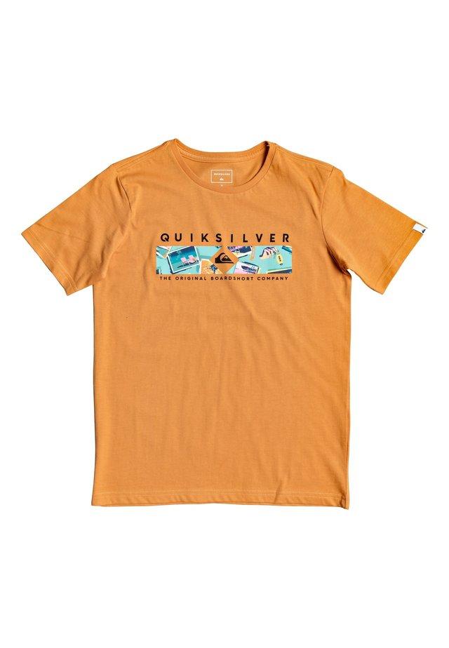 DISTANT FORTUNE - T-shirt imprimé - apricot buff