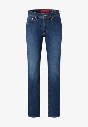 VOYAGE LYON - Jean slim - mid blue