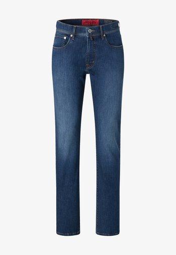 VOYAGE LYON - Slim fit jeans - mid blue