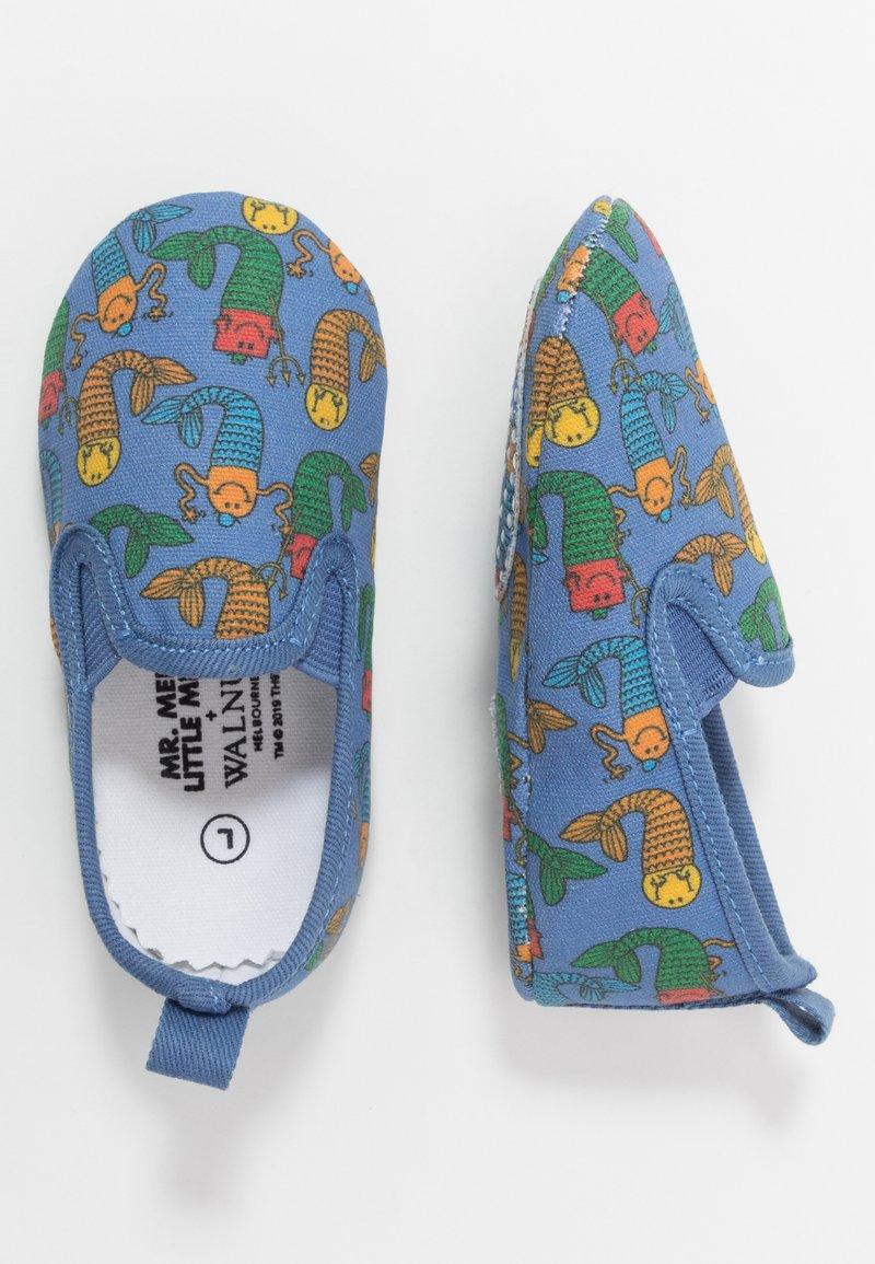 Walnut - MINI CHARLIE - First shoes - deep blue sea