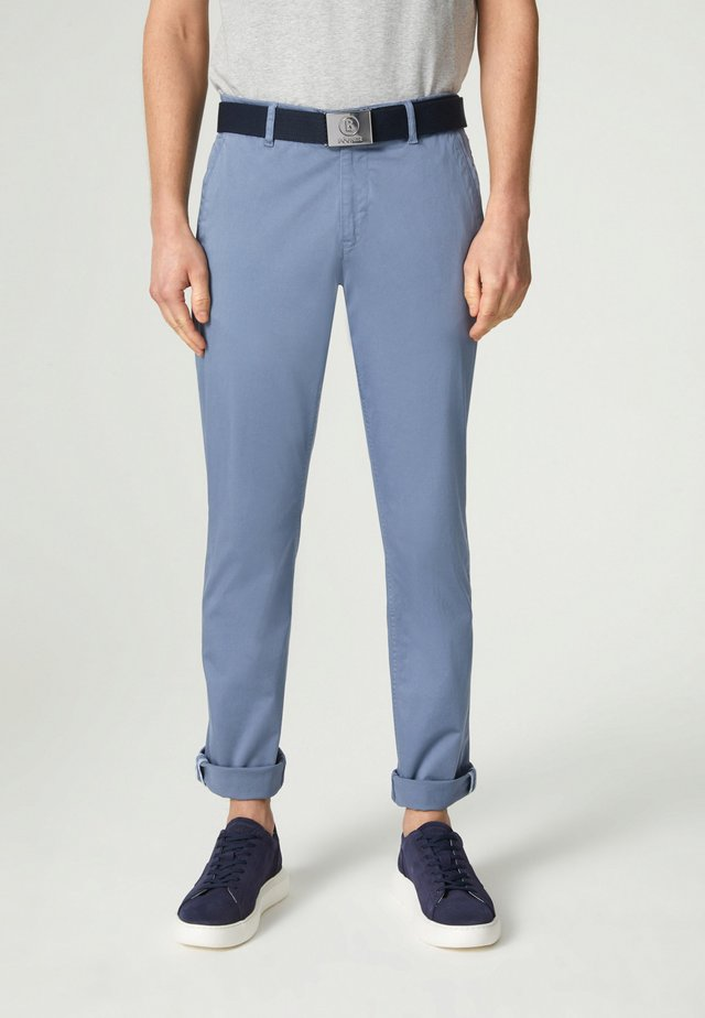 Chino kalhoty - hellblau