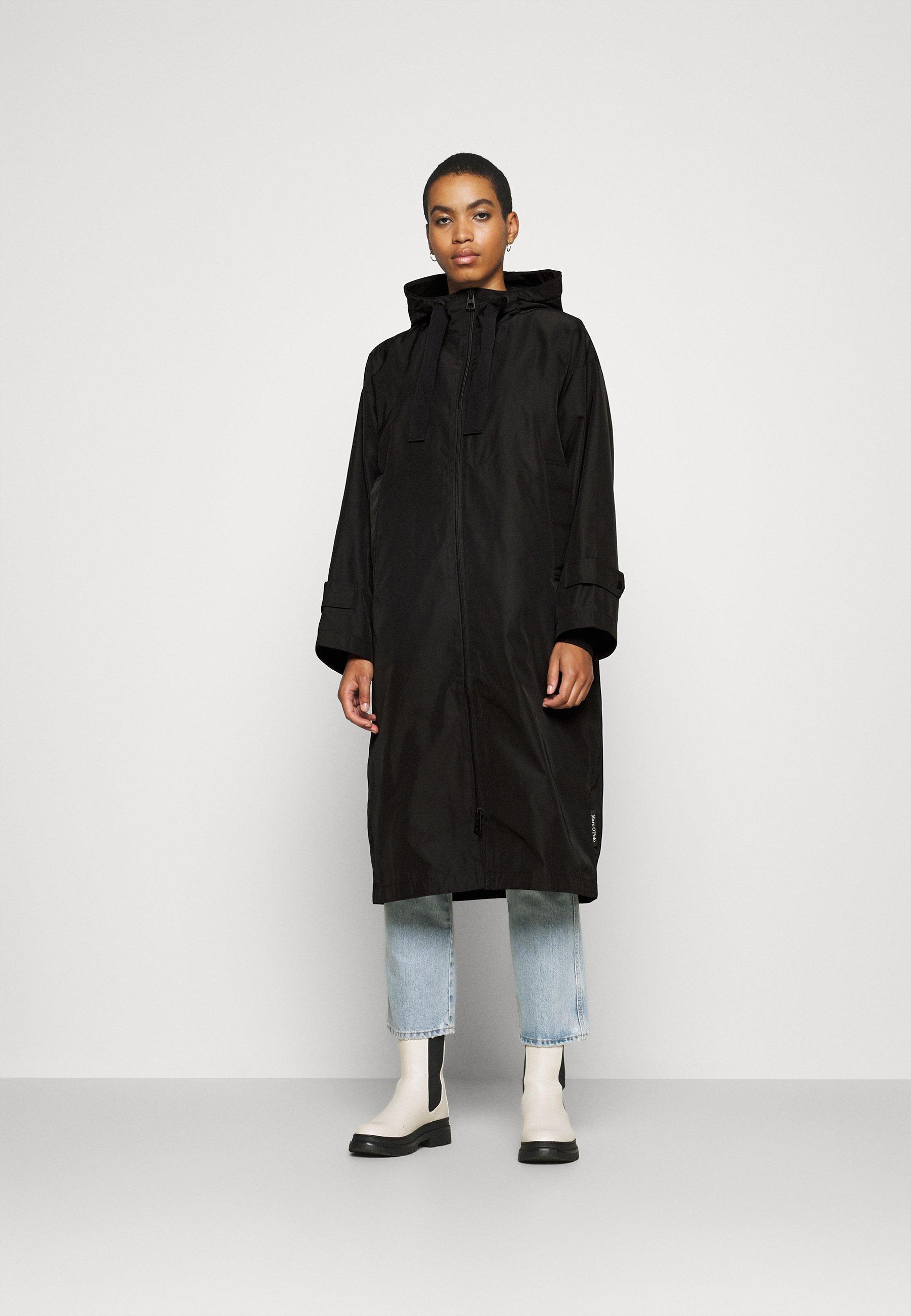 Femme COAT DRAWSTRING WAIST - Veste imperméable