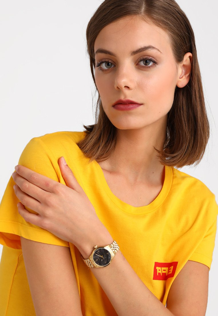 Timex - WATERBURY BRACELET DIAL - Watch - gold-coloured