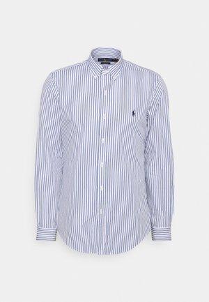 LONG SLEEVE - Košile - white/sky blue