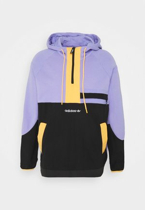 Sweatshirt - light purple/black