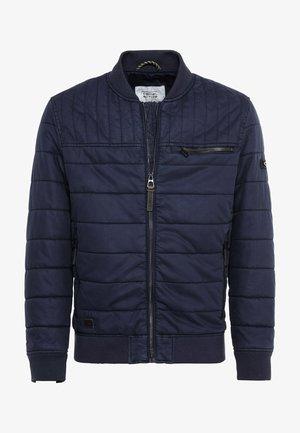 MIT AUTHENTISCHER WASCHUNG - Winter jacket - dark navy