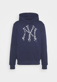 MLB NEW YORK YANKEES INFILL CORE GRAPHIC HOODIE - Club wear - navy
