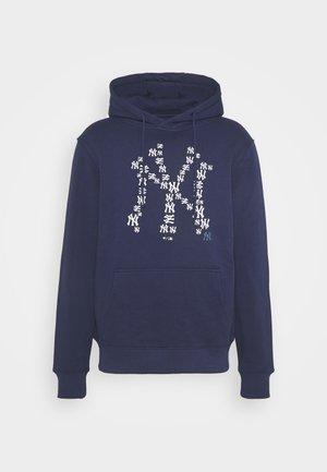 MLB NEW YORK YANKEES INFILL CORE GRAPHIC HOODIE - Club wear - navy