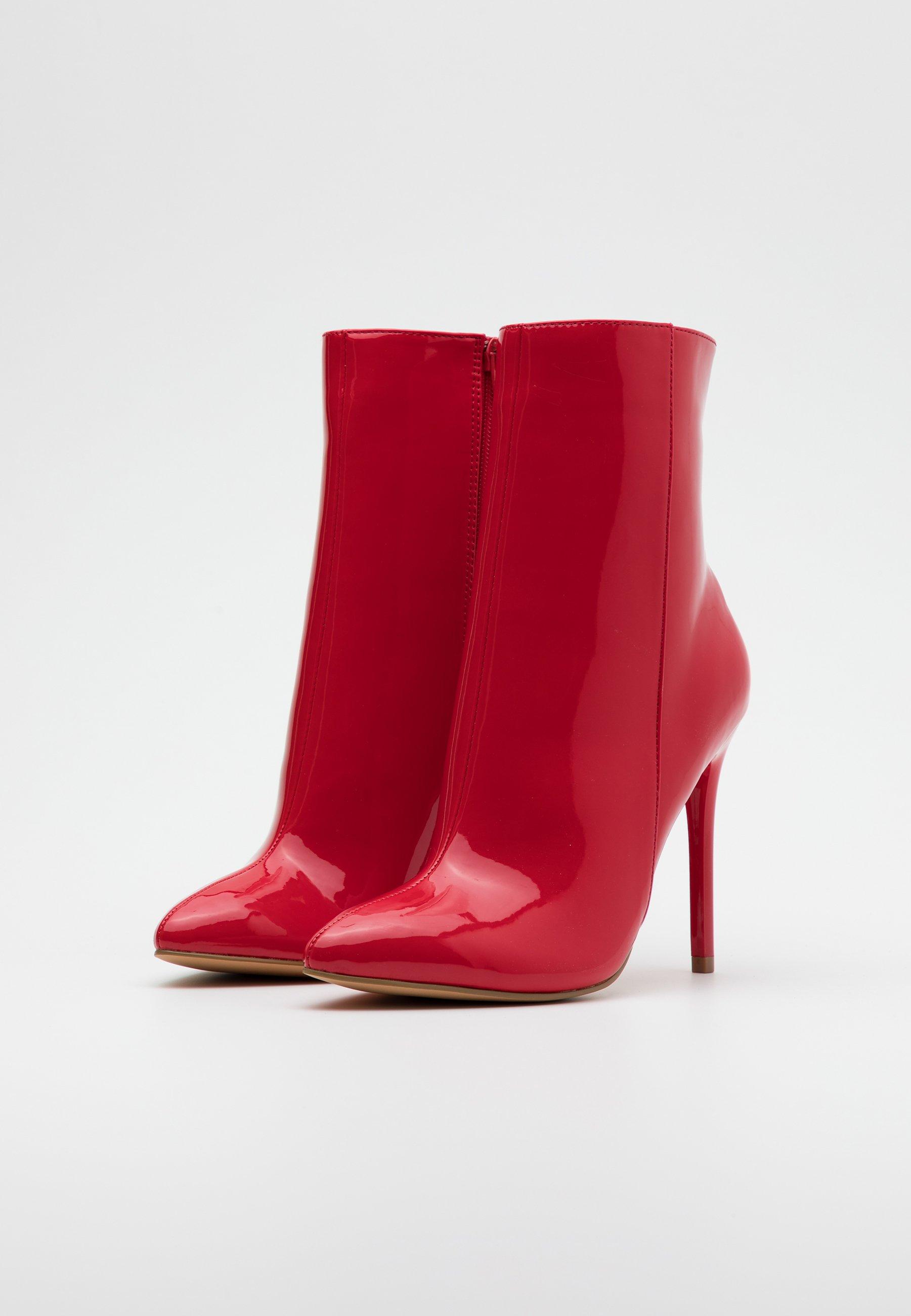 Even&Odd High Heel Stiefelette red/rot