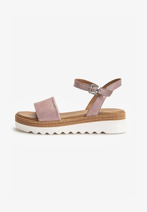 Platform sandals - lilac llc