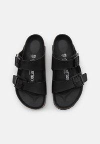 Birkenstock - ARIZONA TRIPLE UNISEX - Pantofle - black - 3