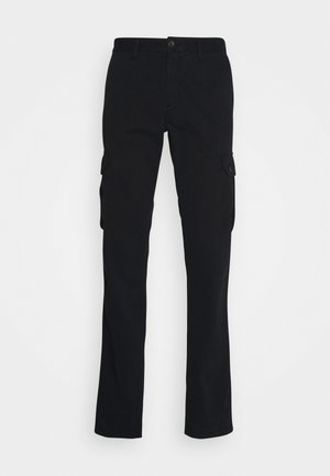 TROUSERS  - Pantaloni cargo - black