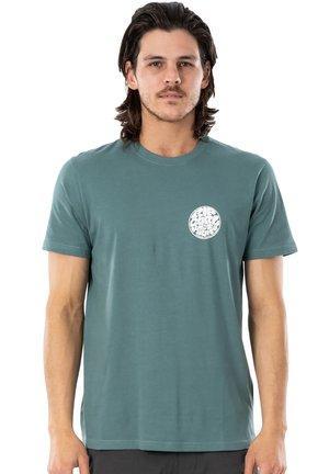 WETTIE ESSENTIAL - Print T-shirt - bluestone