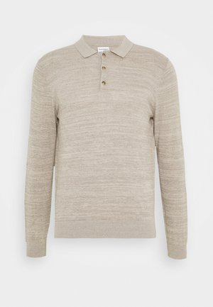 SUMMER POLO - Jumper - taupe